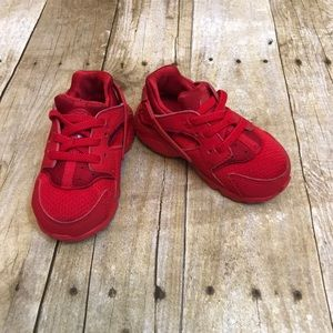 Nike Red Huarache Baby Toddler Size 6C